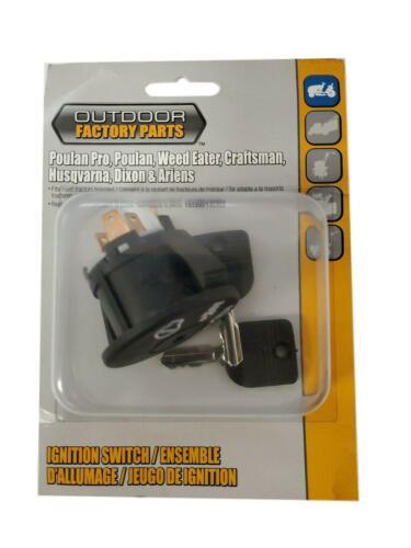 Husqvarna Poulan Craftsman Sears Ignition Key Switch 193350, 532193350, 140403