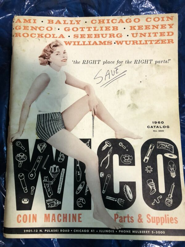 Wico 1960 Coin Machine Parts And Supplies Catalog