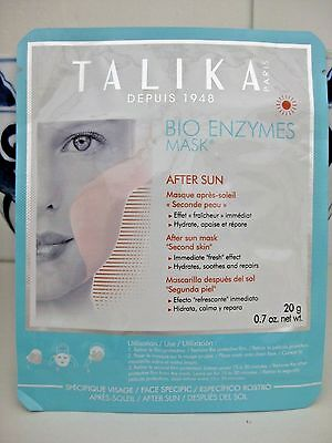 Talika Face Mask Bio Enzymes Masque After Sun Rejuvenating Lift Firming France