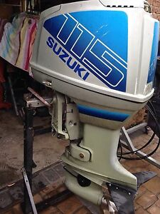 Suzuki 115hp outboard runs perfect Bass Hill Bankstown Area Preview