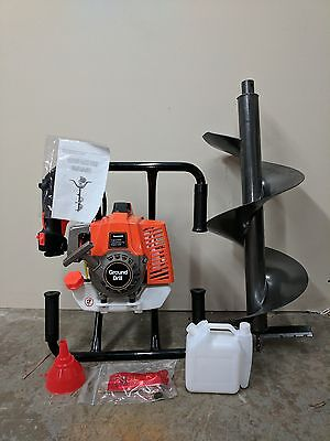 Hoc - One Man Auger 71 Cc Free Any Size Bit 90 Day Warranty Free Shipping