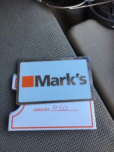 Marks work wearhouse gift card !