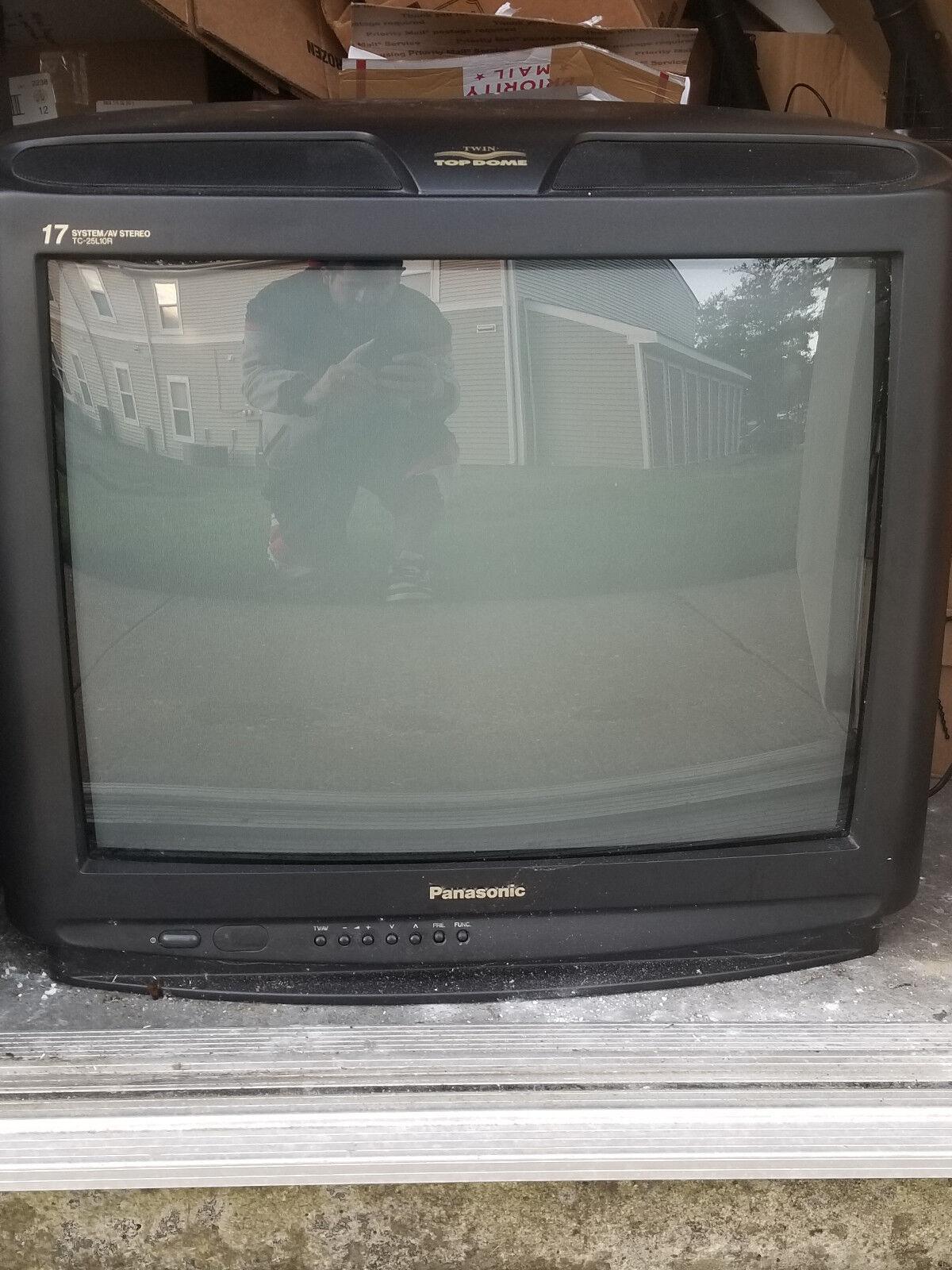 "Panasonic 24"" 110 - 220v European dual voltage color TV"