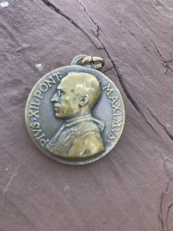 Rare Pope Paulus VI Pont. Maximus Medal - Catholic - Italy - Token Coin Relic