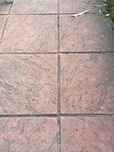 Red 400x400 textured pavers Kent Town Norwood Area Preview