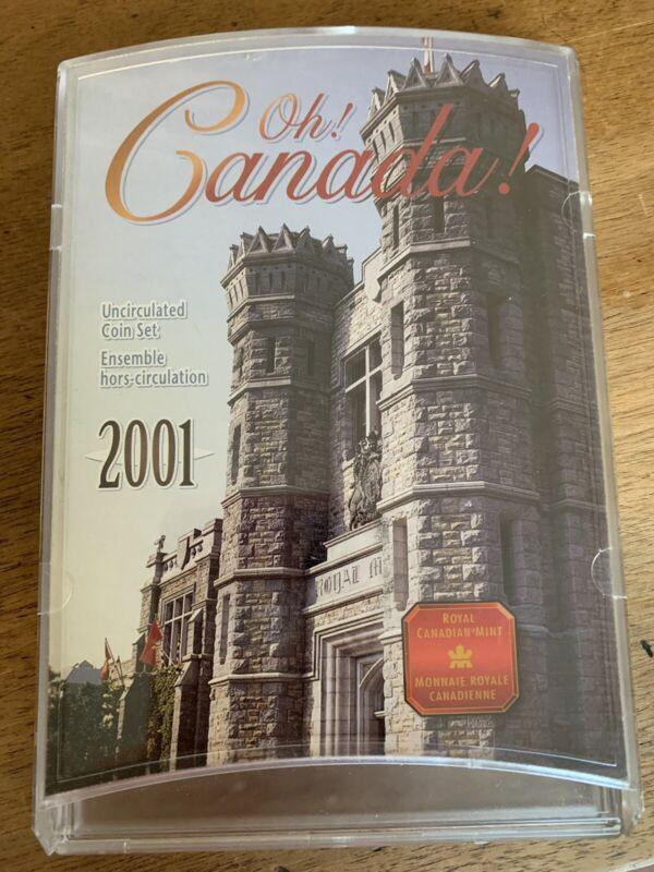 Oh Canada Uncirculated Coun Set 2001
