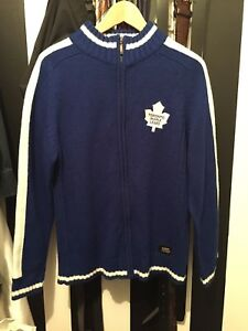 Toronto Maple Leaf zip sweater