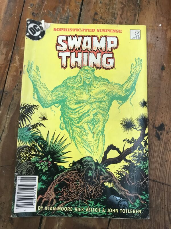 Saga of the Swamp Thing #37 - DC 1985 As Is