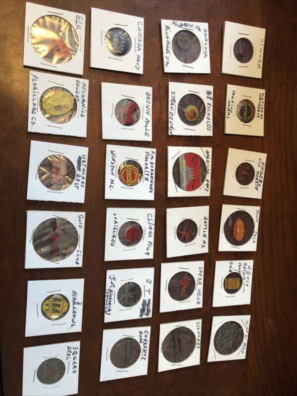 24 Tobacco Tags ($4-18 Each)