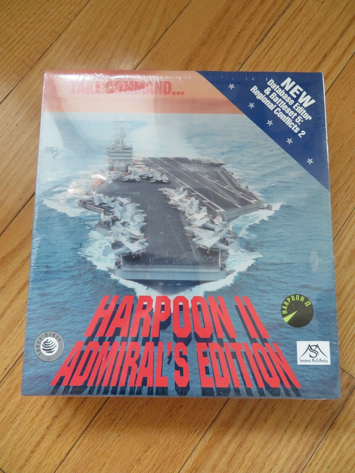 Computer Games - 1996 HARPOON II Admiral's Edition CD~ROM computer game
