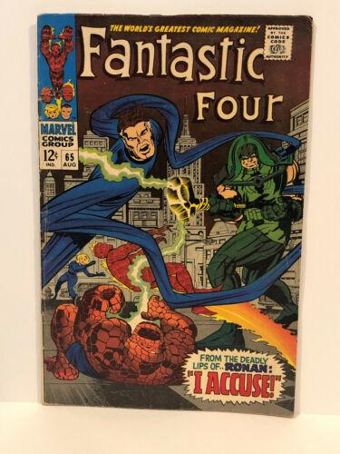 Fantastic Four 65 VG+ 1st Ronin Silver Age Key