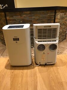 Two A/C units for sale.