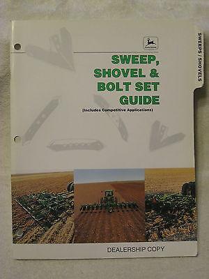 1995 John Deere Dealer Sweep Shovel Bolt Set Parts Guide