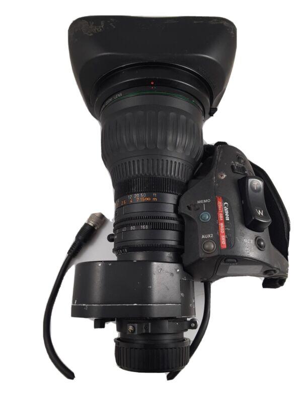 Canon IFSX J22ex7. 6B 7.6-168mm F1.8 SD Lens