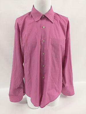 1970s Mens Shirt Styles – Vintage 70s Shirts for Guys Vintage 1970s Lancer California Mens Pink Long Sleeve Flip Cuff Shirt Size XL $70.00 AT vintagedancer.com