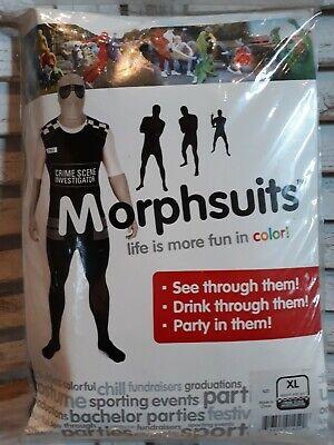 Morphsuit Polizist Crime Scene Investigator Gr XL Karneval - Gator Kostüme