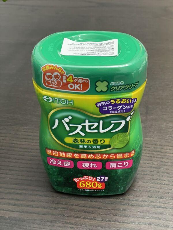 Japanese Bath Salts - Forest scent - 680g (27baths) - Japan Import
