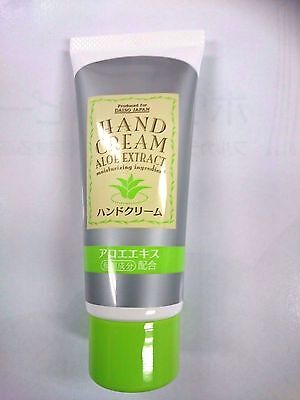 Daiso  Hand cream ALOE EXTRACT Made in Japan.