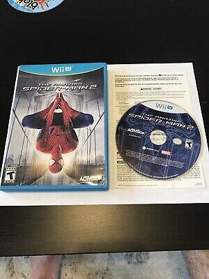 The Amazing Spider-Man 2 Complete CIB (Nintendo Wii U, 2014)