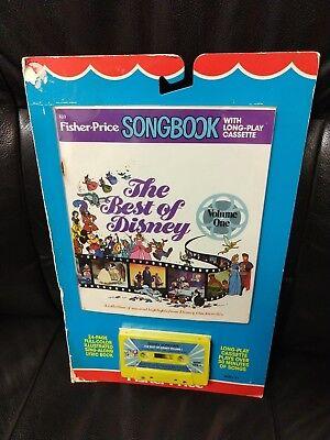 Vntg Fisher Price Songbook