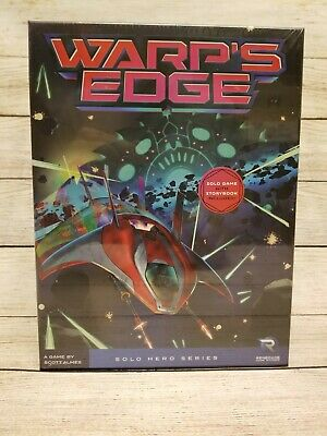 Warp's Edge - A Solo Adventure with Extras Renegade Games Sealed
