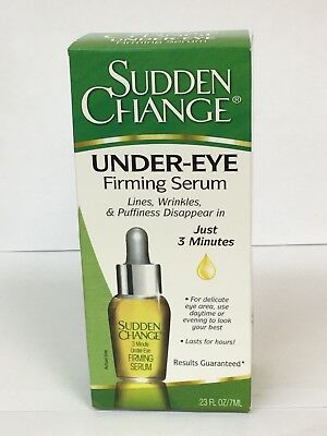 Sudden Change Under Eye - Sudden Change Under-Eye Firming Serum - 0.23 oz