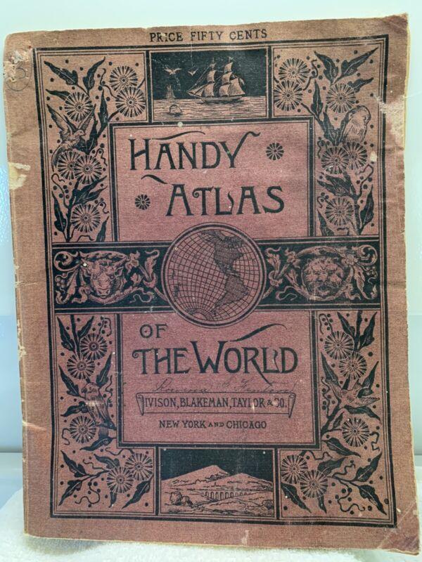Handy atlas of the world