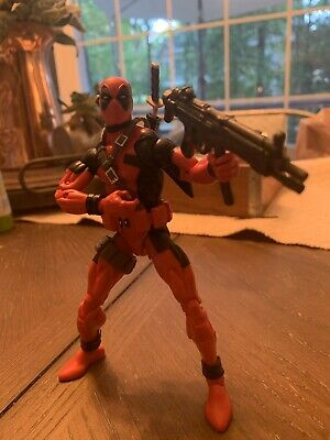 Marvel Legends  Deadpool 2018 Sasquatch Wave LOOSE COMPLETE W Extra Gun