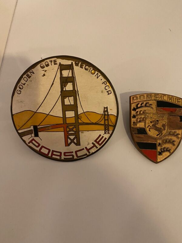 Old Vintage PORSCHE Porcelian And Golden Gate Region  PCA