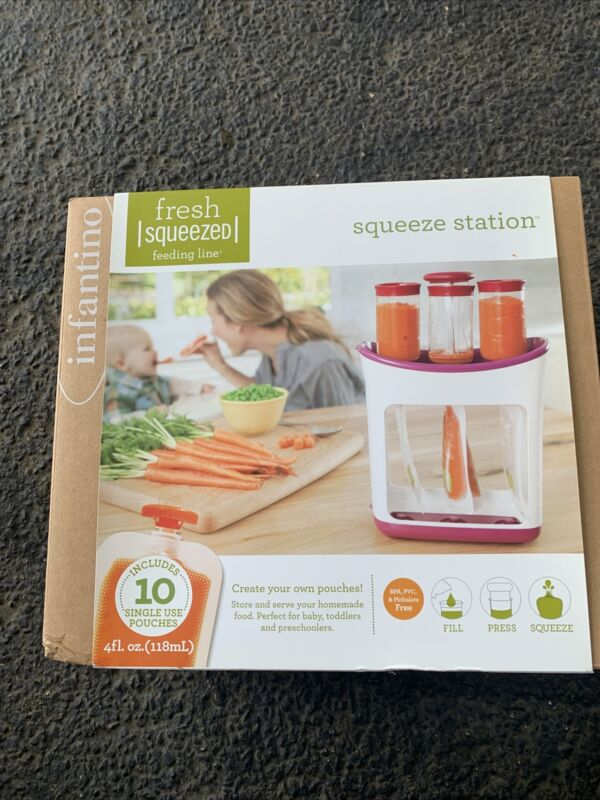 Infantino Squeeze Station Baby Food Maker NEW IN BOX