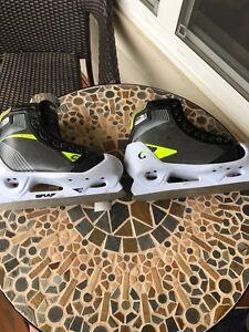 Graf goalie skates