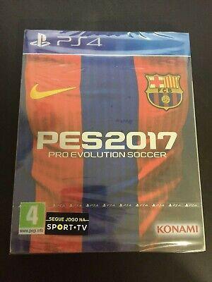 PS4 Pro Evolution Soccer 2017 Barcelona Edition with Steelbook limited edition