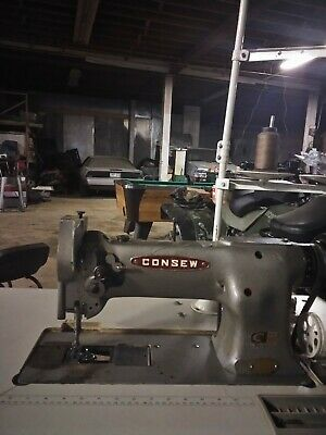 Consew 225 Industrial Sewing Machine With Table
