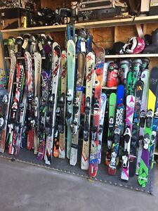 Used Skis Kids to Adult -PRICES VARY