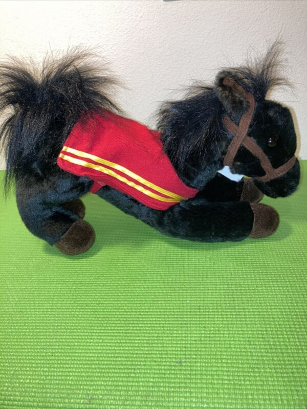"""Wells Fargo Legendary Pony Mike Horse 🐎 Plush 12"""" With Tag 🏷 2016 RARE"""