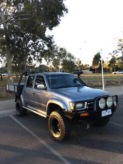 2001 Toyota Hilux Ute SR5 Turbo Diesel 4x4 Dual Cab Altona Hobsons Bay Area Preview