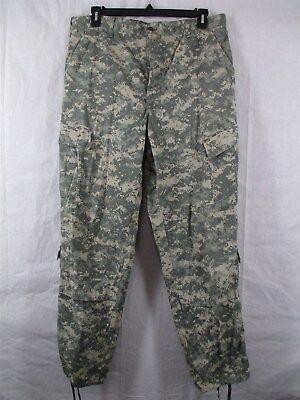 ACU Pants/Trousers Large Long USGI Digital Camo Cotton/Nylon Ripstop Army Combat