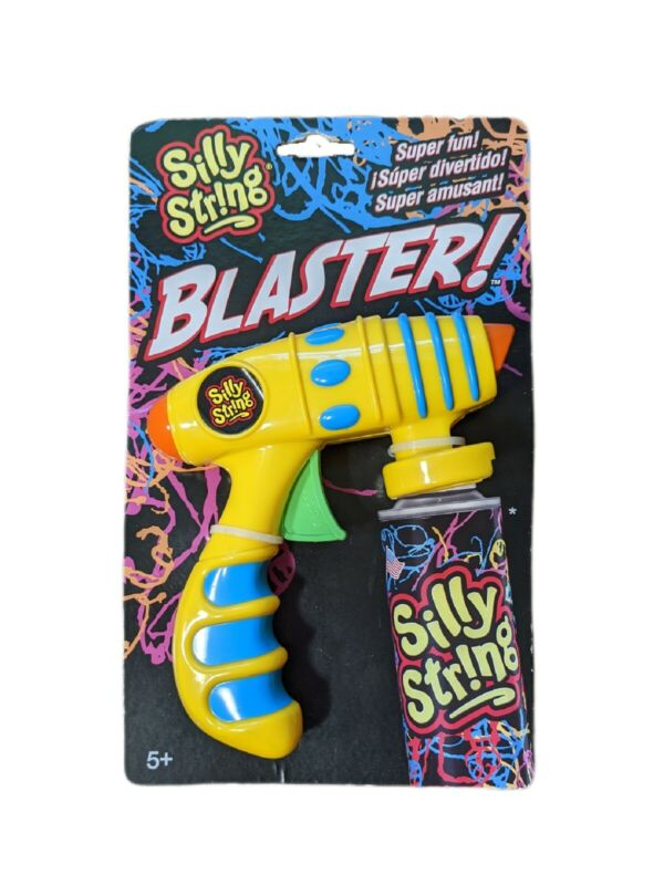 Silly String Blaster For Use With Cans Of Silly String