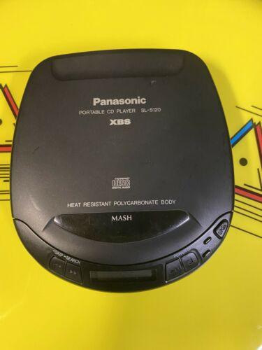 PANASONIC PORTABLE CD PLAYER SL-S120 XBS - TESTED  WORKS