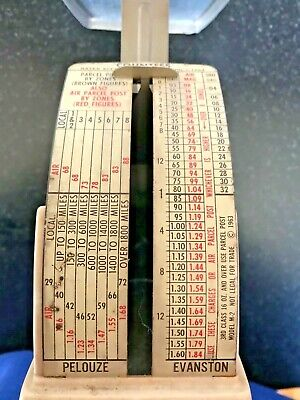 Vintage 1964 Postal Scale Tabletop Usps Mail Weight Pack Ship Model M-2
