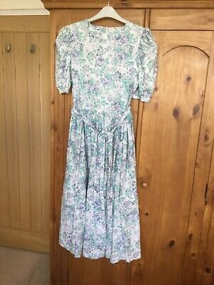 Vintage Laura Ashley dress size 12