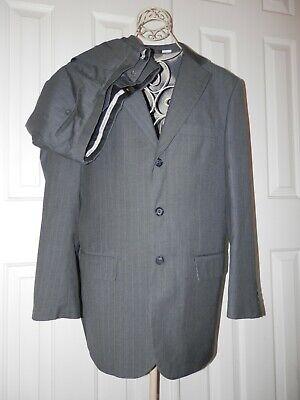 men's VINCI MODERN SUIT PANTS 32 x 32 TWO VENTS COAT JACKET 40 R ITALIANA COLLEZ
