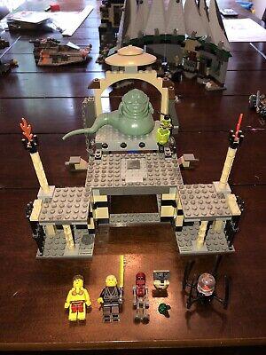 LEGO Star Wars Jabba's Palace Set 4480 Incomplete Leia Luke Droids