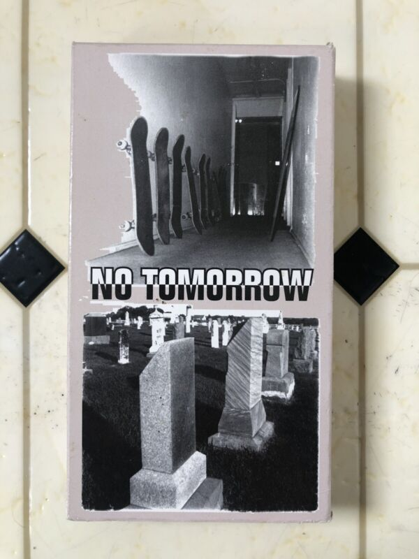 Consolidated Skateboards No Tomorrow Rare VHS Skate Video