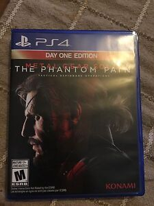 """Metal gear solid """" the Phantom Pain"""" day one edition"""