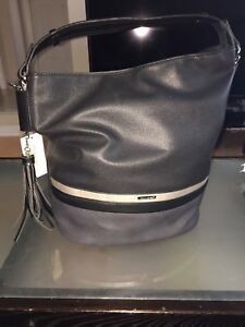 Black David Jones purse