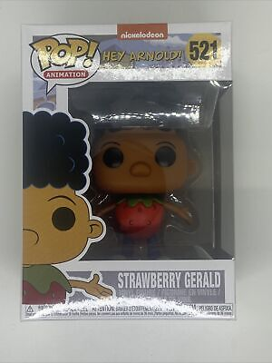Funko Pop! Hey Arnold Strawberry Gerald #521 Exclusive! Brand New! UK Delivery!