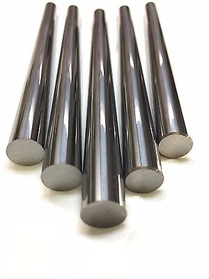 0.1875dx12l Tungsten Carbide Rod Ground And Polished
