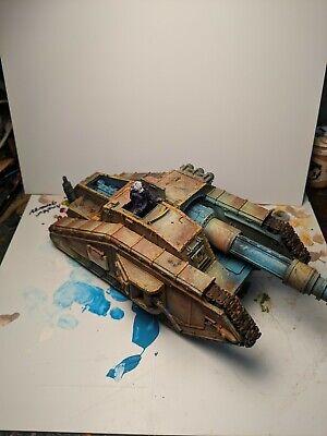 Malcador Valdor Tank Hunter Painted Forgeworld Super Heavy Tank Gamesworkshop