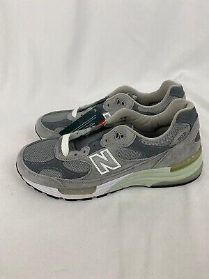 Men's New Balance M992GL Grey Sneakers Shoes Made in USA Size 9.5 NEW SUPER RARE